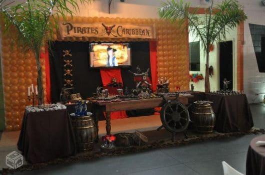 melhores festas piratas do caribe