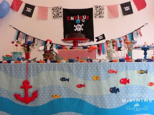 festa pirata infantil