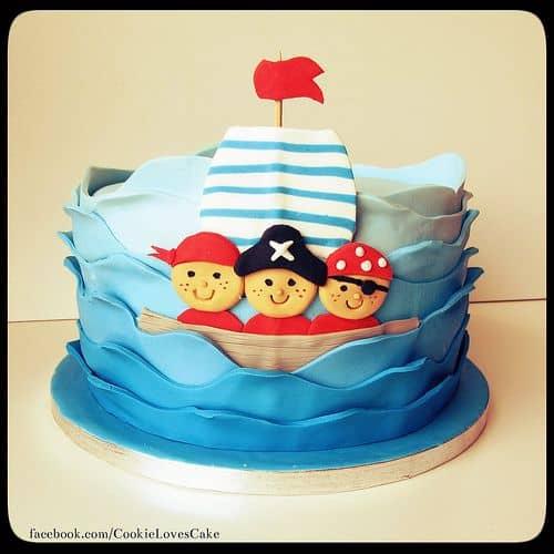 bolo pirata como fazer