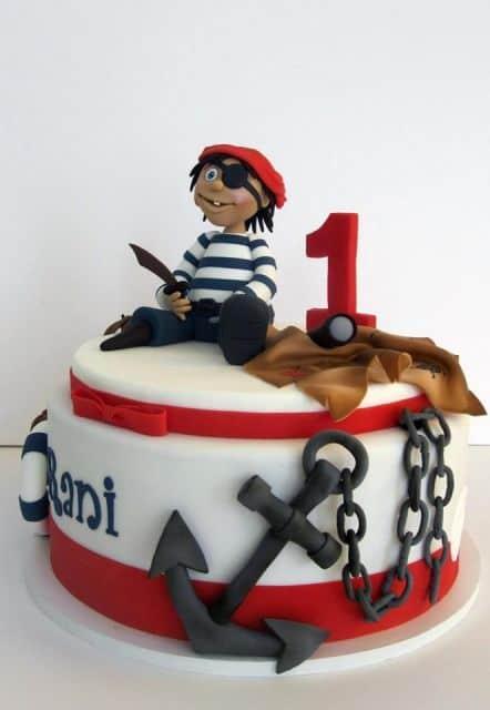 como fazer bolo pirata