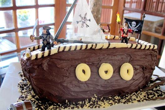 dicas de bolo de pirata