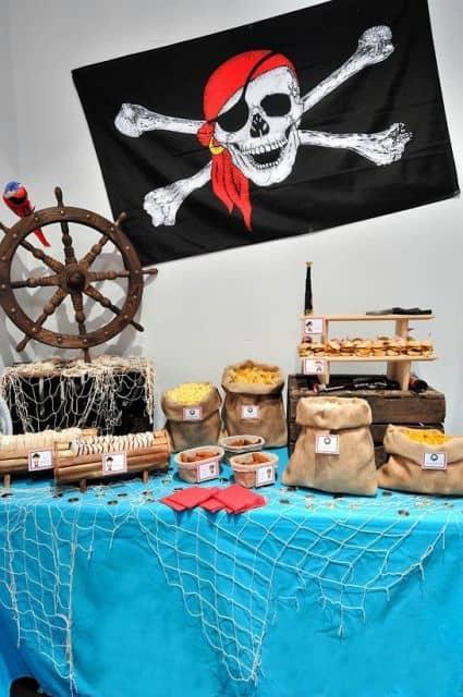dicas de festa tematica pirata