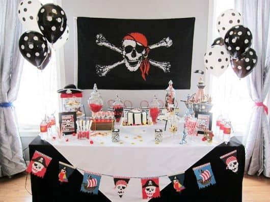 idéias de festa pirata