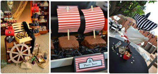 Como fazer festa pirata