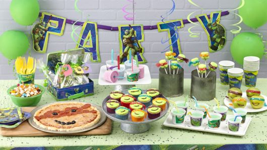 festa aniversário tartaruga ninja