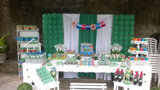 decoração provençal de festa temática