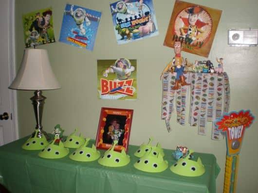 monte sua festa tema toy story