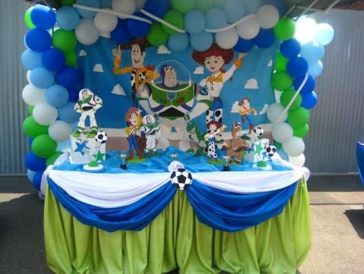 dicas festa toy story