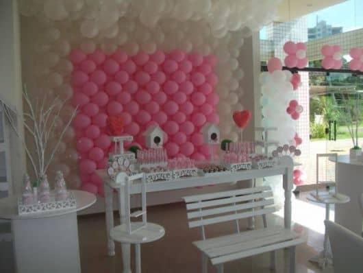 decoração provençal de festa infantil