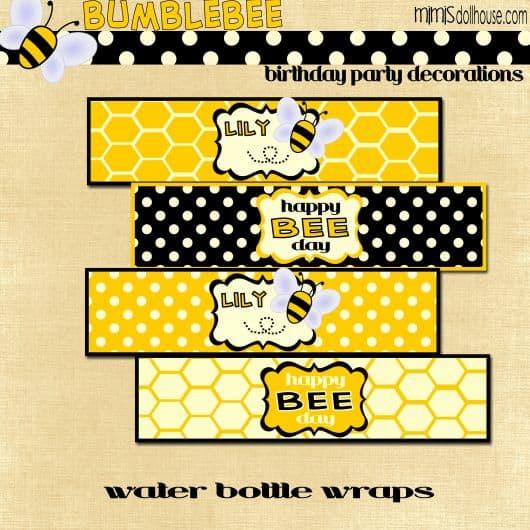 etiquetas abelhinha