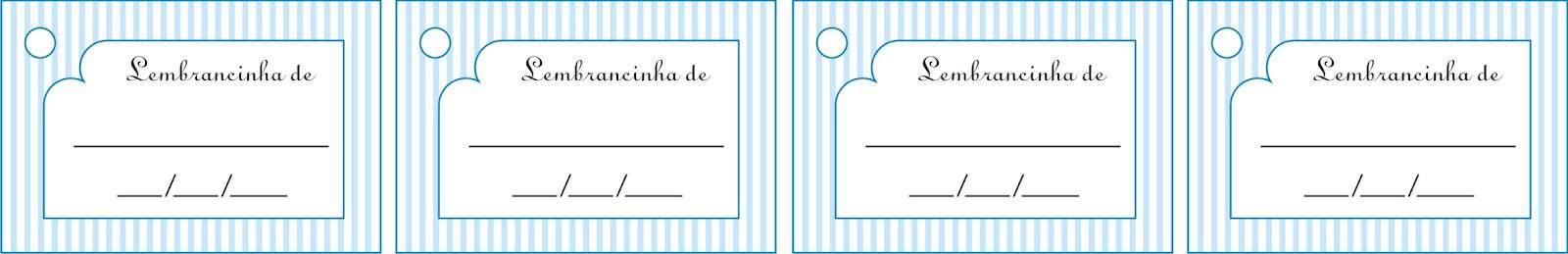 Etiquetas para lembrancinhas simples para chá de bebê para download
