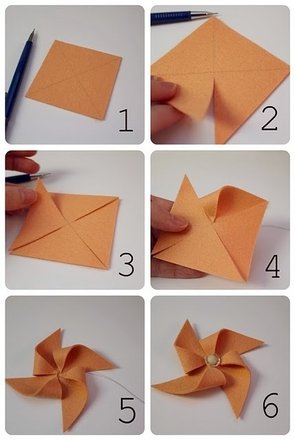 how to make paper windmill fans