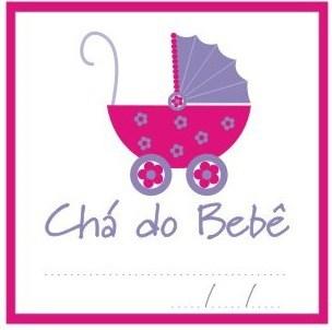 Chá de bebê feminino - lembrancinhas simples para imprimir