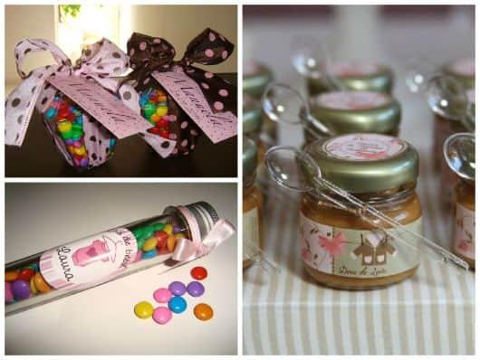 Como fazer lembrancinhas baratas para chá de bebê menina