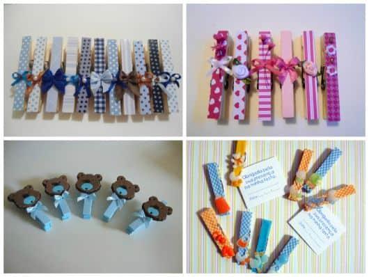 Lembrancinhas artesanais simples e baratas para chá de bebê