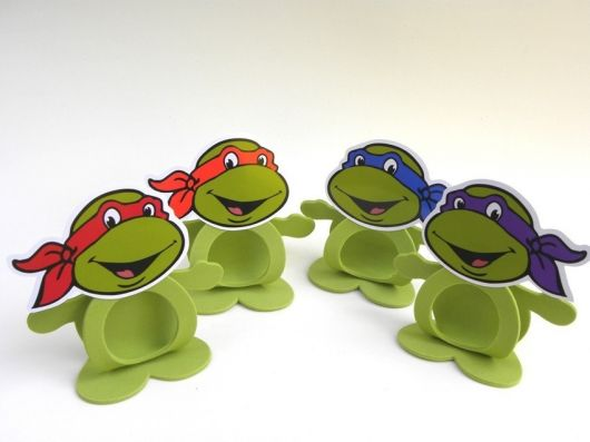 Lembrancinhas das Tartarugas Ninja