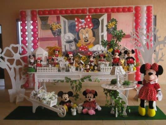 decoração provençal de festa simples