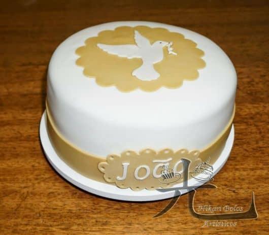 temas para bolo do batismo