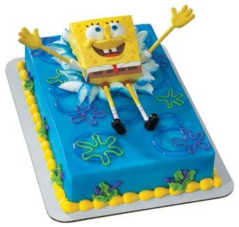 bolo de gelatina bob esponja
