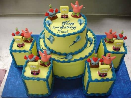 bolo de tema popular infantil
