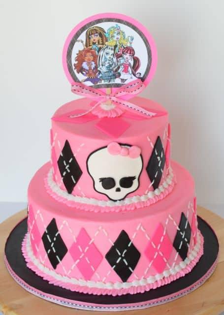 modelo de bolo feminino