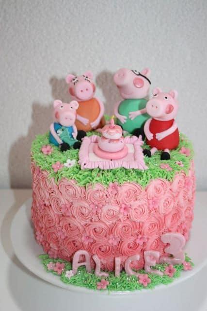 cores para o bolo