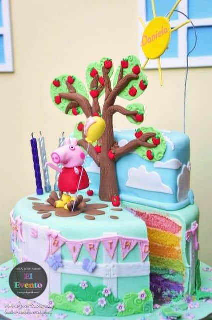 ideias de bolos temáticos peppa pig