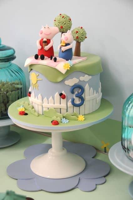 os mais lindos bolos peppa pig