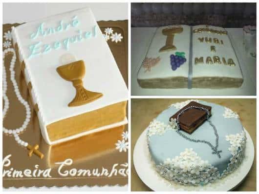 bolo em formato de bíblia