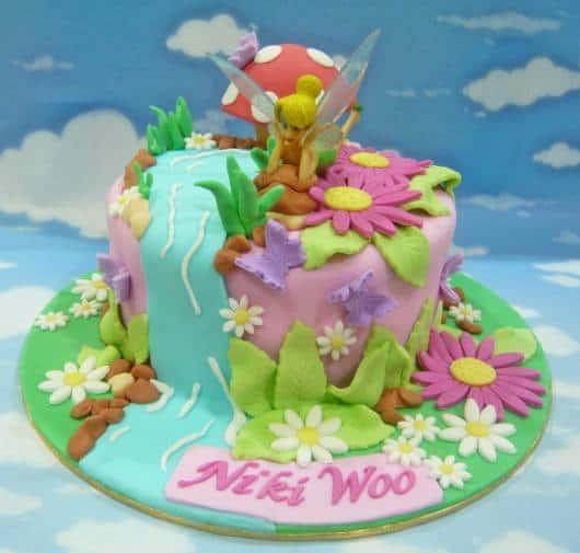 Foto de bolo da Sininho