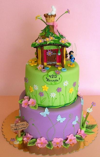 os mais lindos modelos de bolo para meninas