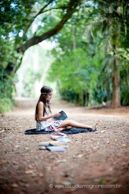 ideias para fotografar debutante ao ar livre