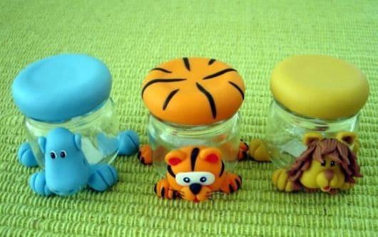 ideias chá de bebê safari - presentinhos