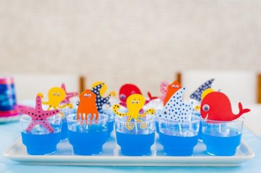 doces para o chá de bebê marinheiro