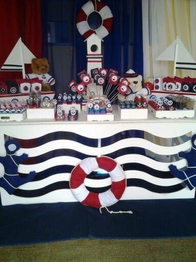 mesa dos doces marinheiro