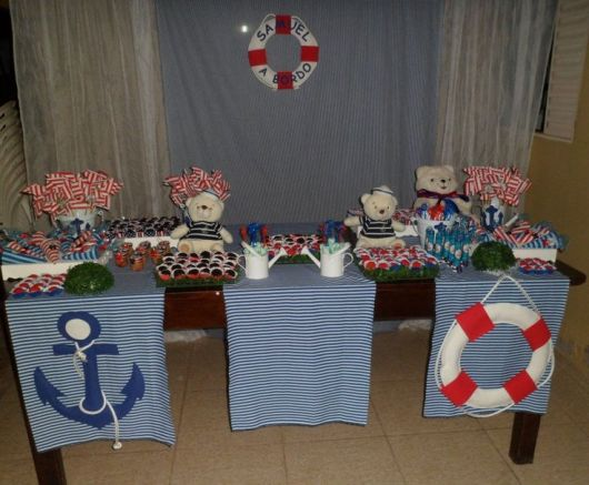 decoração simples para festa de chá