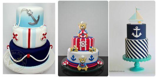 bolos baby marinheiro