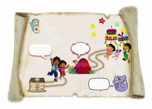 convite Dora aventureira bem elaborado