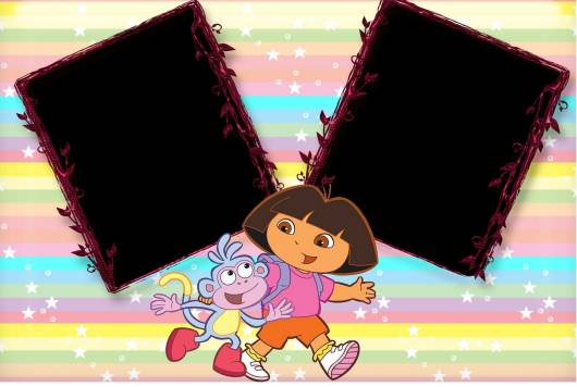 convite simples Dora