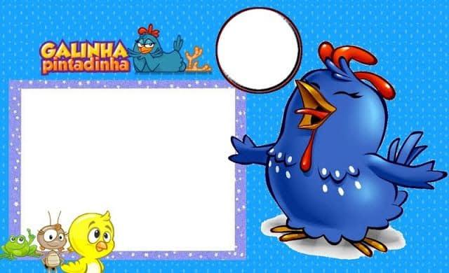 convite galinha pintadinha online