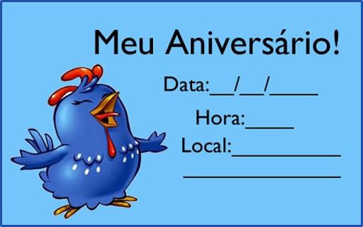 Montar Convite Da Galinha Pintadinha