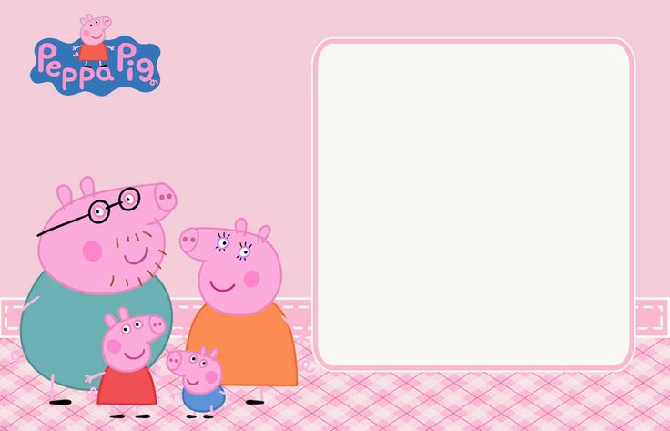 Peppa Pig Birthday Invitation for beautiful invitation example