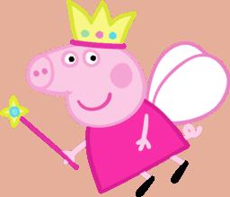 molde peppa princesa