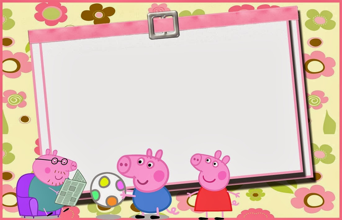 convite digital peppa pig