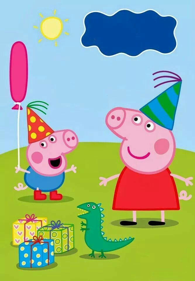convite de aniversario peppa pig para imprimir