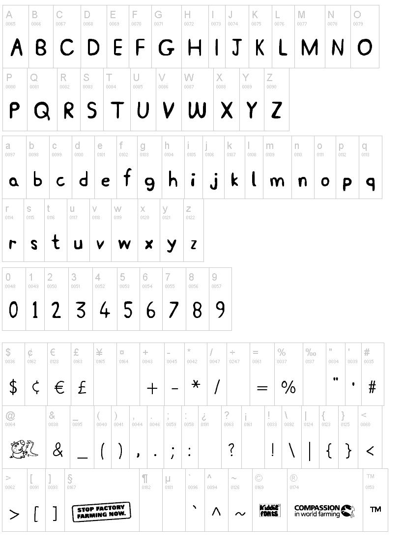fontes da peppa pig grátis para imprimir