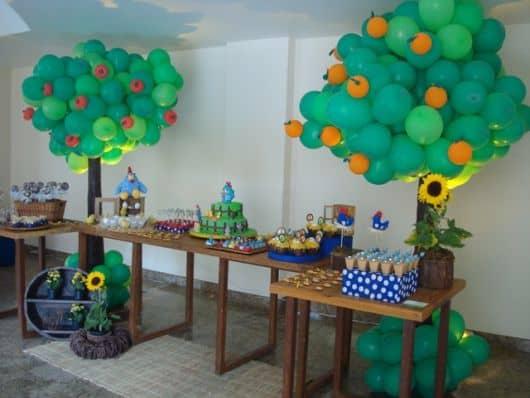 como enfeitar o aniversário infantil em casa