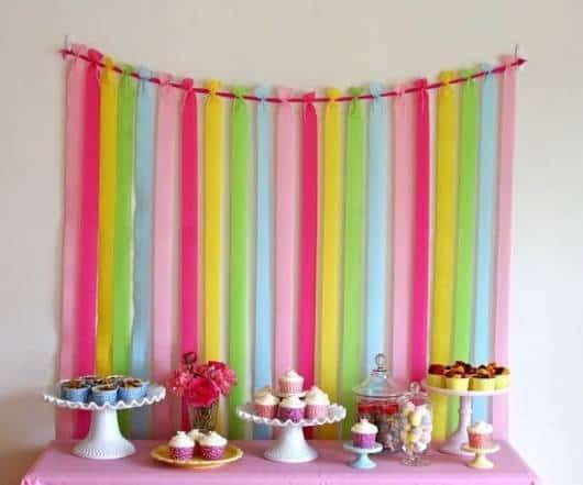 decoração de festa de debutante em casa