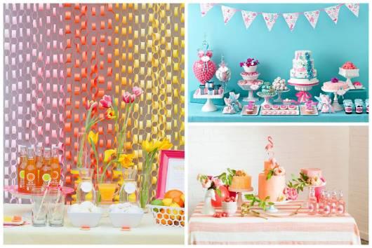festa de 15 anos simples e colorida