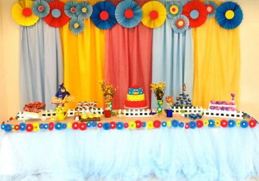 Festa Galinha Pintadinha Bebê simples